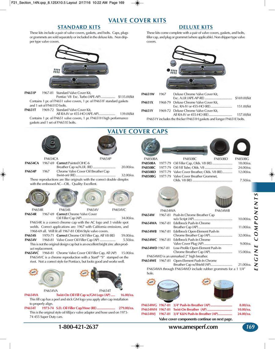 Page 167 Of 2016 Firebird Trans Am Parts Accessories 1968 Pontiac Vacuum Diagram P 297