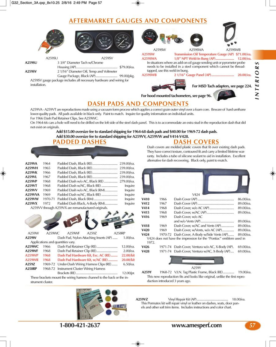 Page 57 Of 2016 Gto Parts Accessories Msd Tach Adapter Wiring P 320