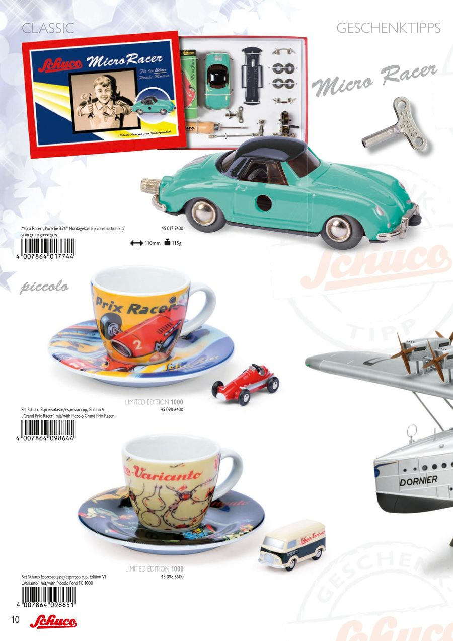 Modellismo Set Fk Cup W Piccolo Espresso Costruzione ford E Schuco tshxQdrC