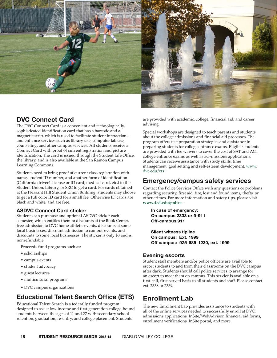 Diablo valley college catalog 2013-2014 by diablo valley college.