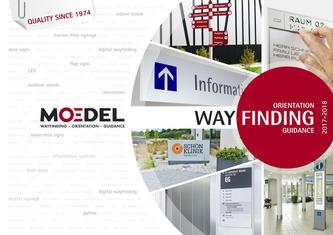 Moedel catalogue WAYFINDING 2017-2018