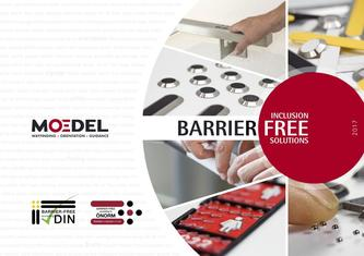 Moedel BARRIER-FREE product catalogue 2017