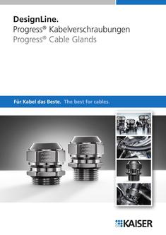 DesignLine. Progress® Cable Glands 2010