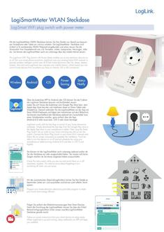 LogiSmartMeter WiFi plug switch 2018