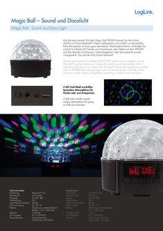 Magic Disco Ball Speaker 2018