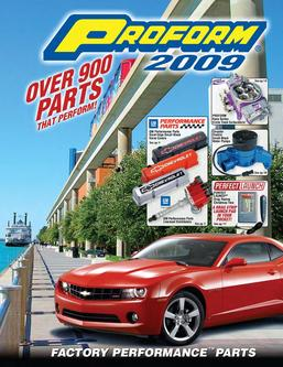 Catalogue: Proform Parts 2009 Factory Performance Parts