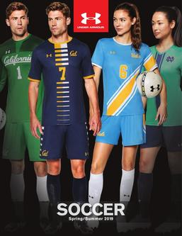 2019 Under Armour Soccer Spring/Summer
