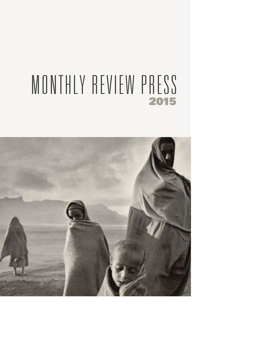 7c01c43015ba31 2015 Monthly Review Press Catalog by Monthly Review Foundation