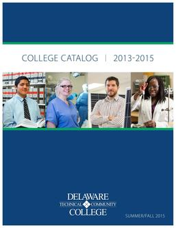 Summer/Fall 2015 College Catalog