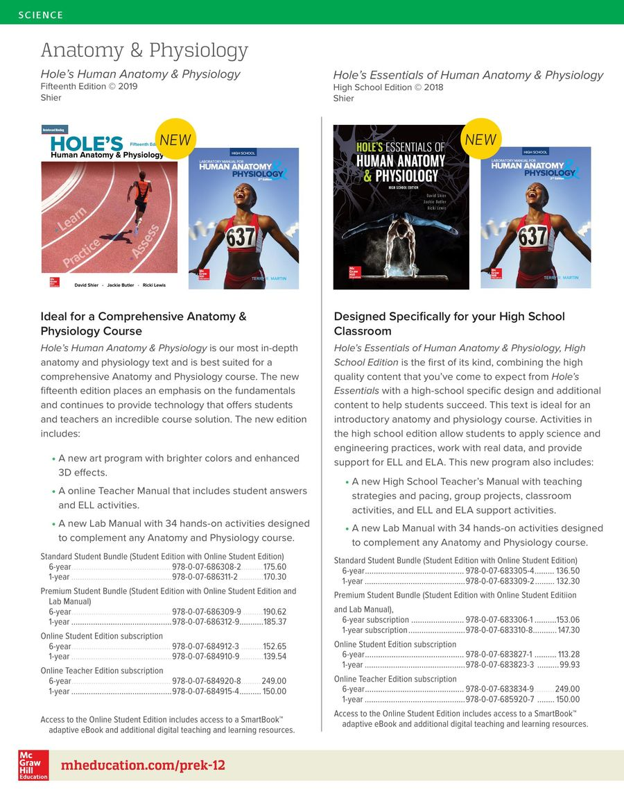 Tolle Holes Anatomy And Physiology 14th Edition Access Code Fotos ...