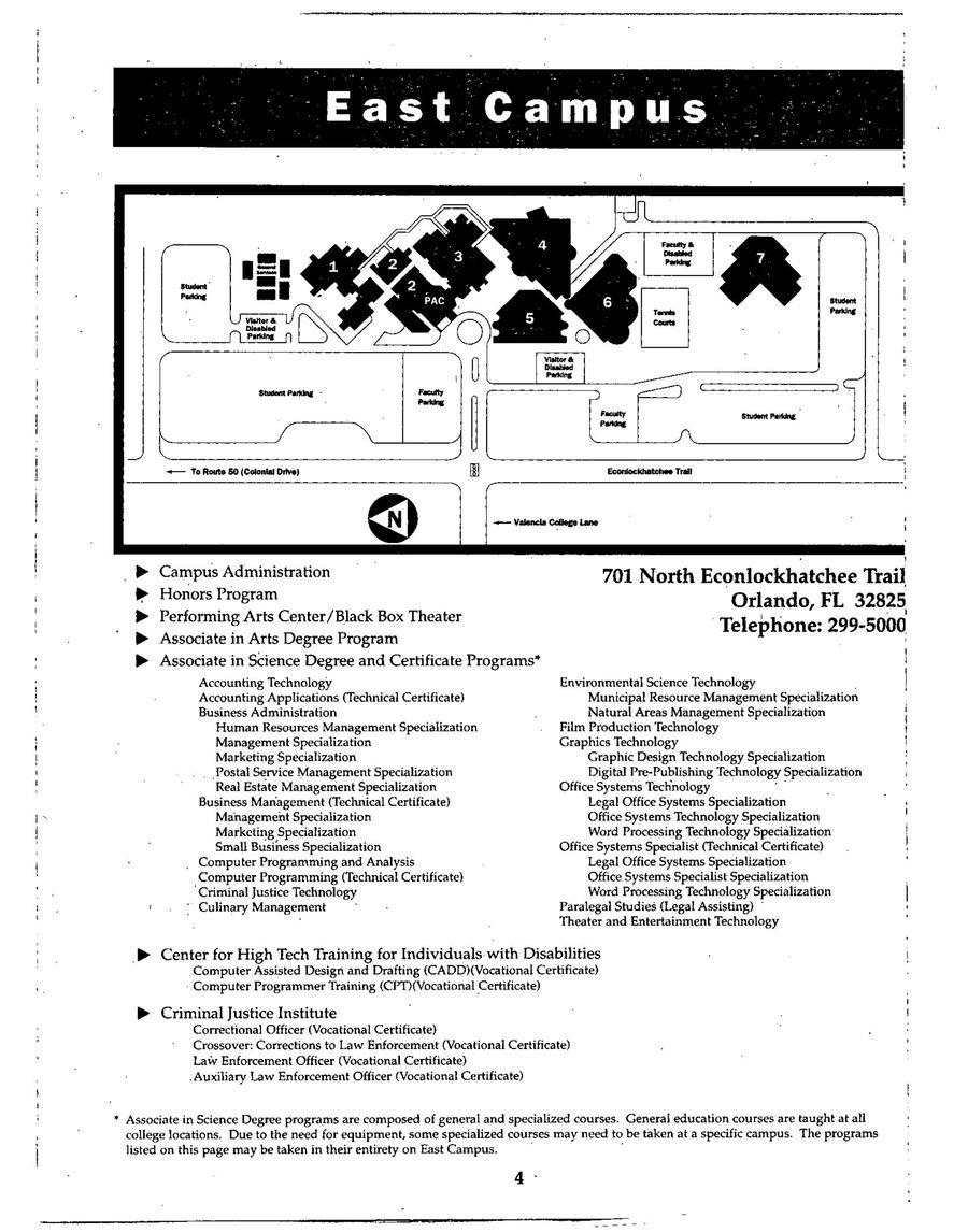 1999-2000 College Catalog by Valencia College