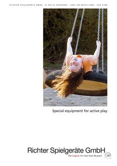 Special equipment for active play 2018