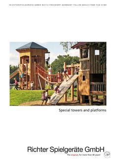 Special towers and platforms 2018