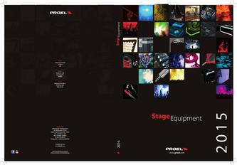 PROEL Stage Equipment 2018