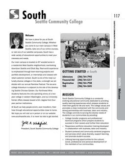 2006 - 2008 South Seattle College