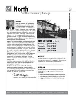 2006 - 2008 North Seattle Community College