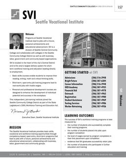 2008 - 2010 Seattle Vocational Institute
