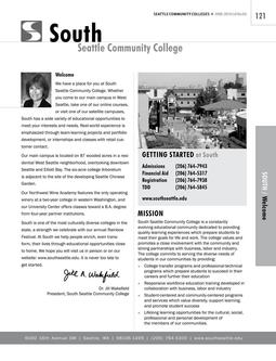 2008 - 2010 South Seattle College