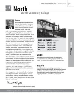 2008 - 2010 North Seattle College