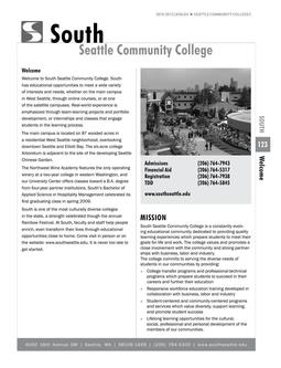 2010 - 2012 South Seattle College