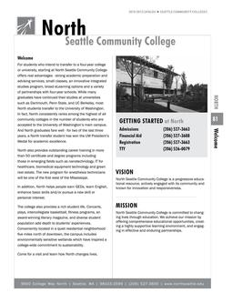 2010 - 2012 North Seattle College