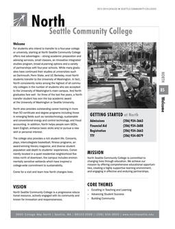 2012 - 2014 North Seattle College