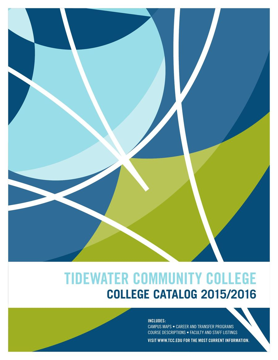 Tcc College Catalog 2015 16 By Tidewater Community College