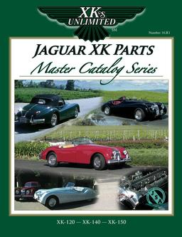 Jaguar XK Parts Master Catalog Series Vol. 16
