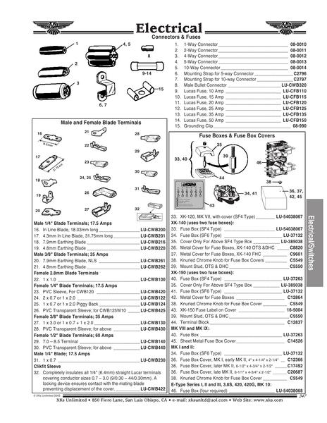 page 30 of jaguar electrical  u0026 switches