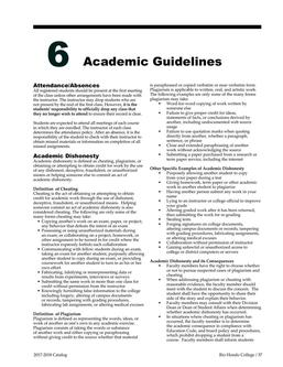 Academic Guidelines 2017/2018