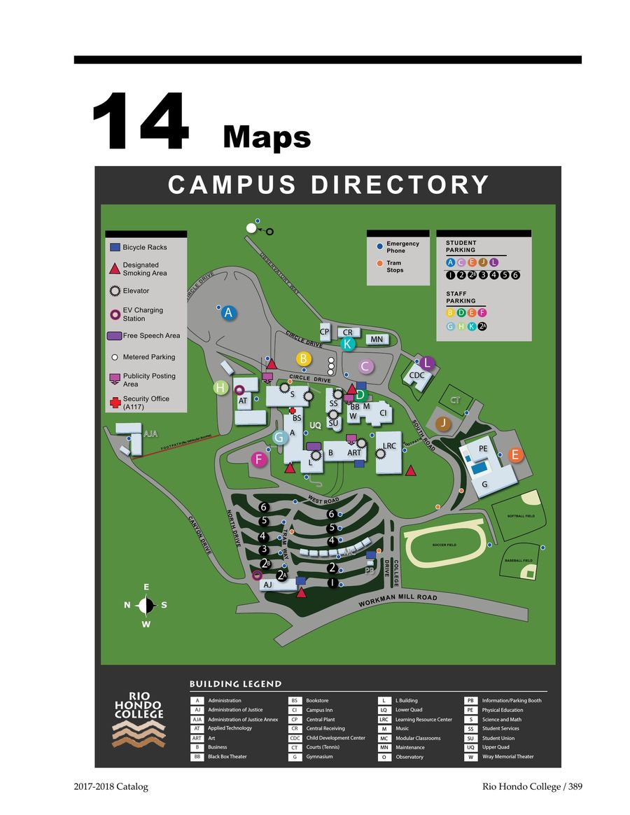 Maps 2017 2018 By Rio Hondo College
