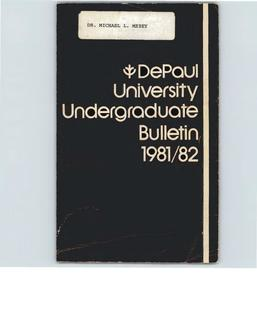Full Year 1981-1982 Undergraduate