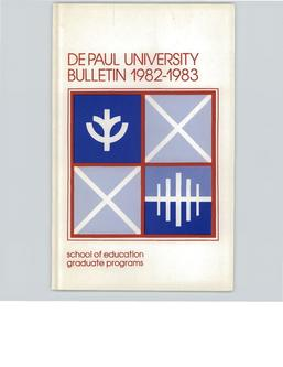 School of Education Graduate Full Year 1982-1983