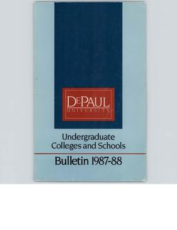 Full Year 1987-1988 Undergraduate