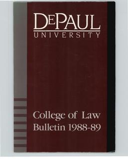College of Law 1988-1989