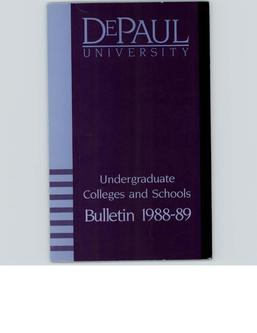 Full Year 1988-1989 Undergraduate