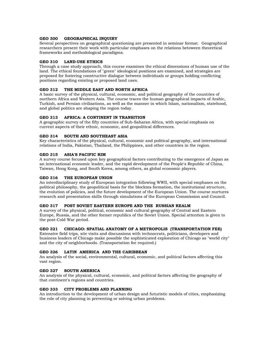 Page 184 of Undergraduate Course Descriptions Summer/Autumn 2004-2005