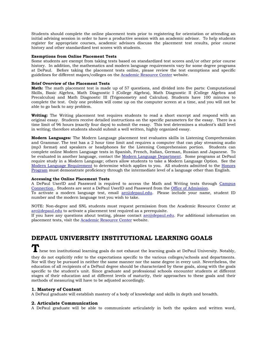 Page 18 of Handbook for Undergraduate Studies Summer/Autumn