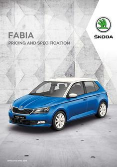 Fabia pricing and specificationFabia pricing and specification 2018