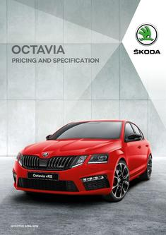 Octavia pricing and specificationOctavia pricing and specification 2018