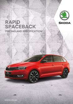 Rapid Spaceback pricing and specification 2018