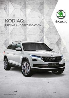 Kodiaq pricing and specificationKodiaq pricing and specification 2018