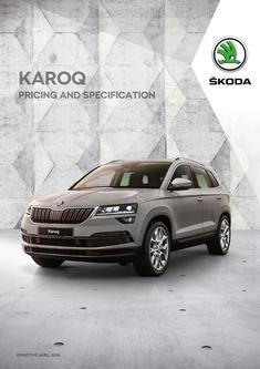 Karoq pricing and specificationKaroq pricing and specification 2018