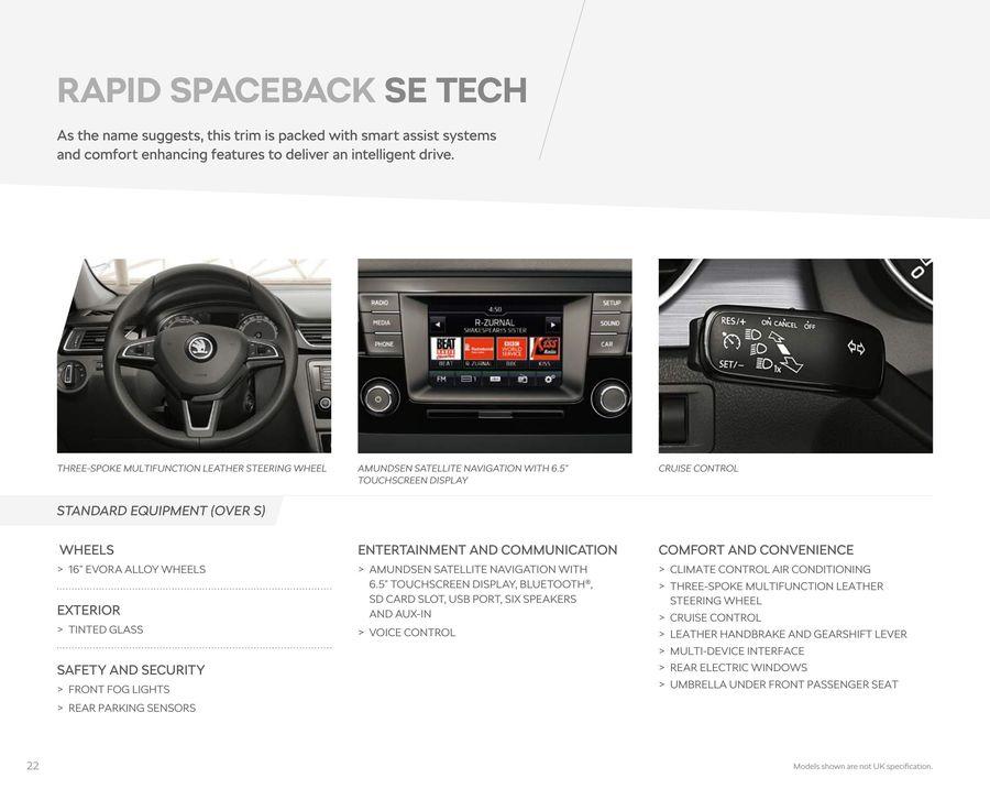 Page 24 of Skoda Rapid Spaceback 2018