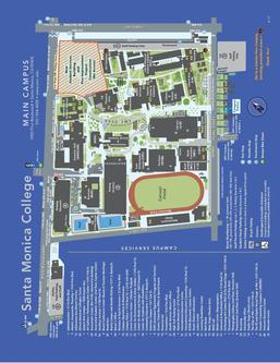SMC Main Campus Map 2017-2018
