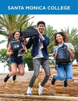Santa Monica College Catalog 2018–2019