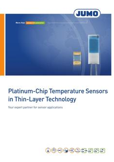 Platinum-Chip Temperature Sensors in Thin-Layer Technology 2018