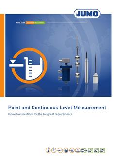 Point and Continuous Level Measurement 2018