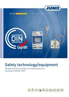 Safety technology/equipment 2018