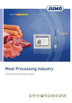 Meat Processing Industry 2018